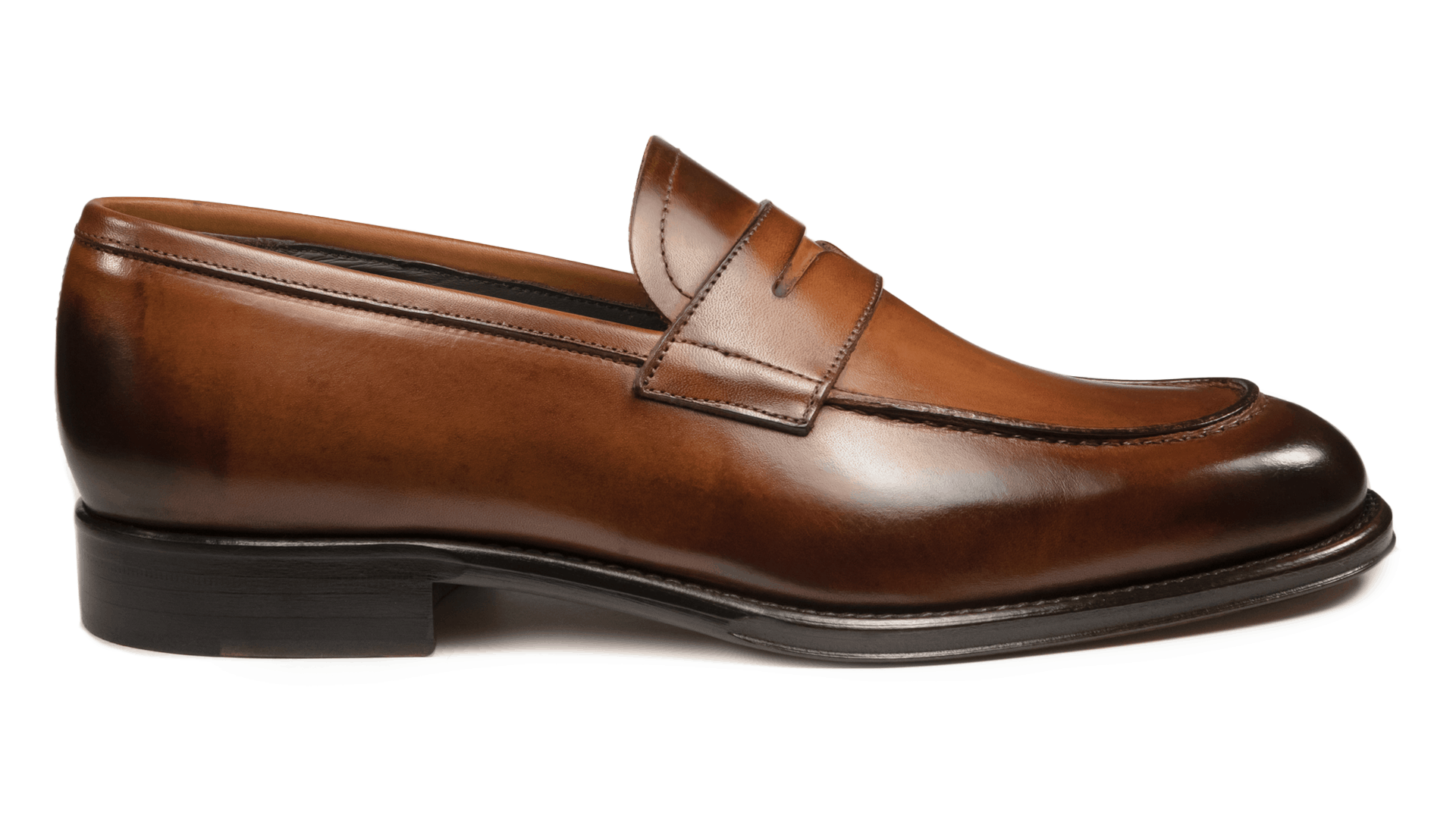 Penny Loafers Crust Cuoio