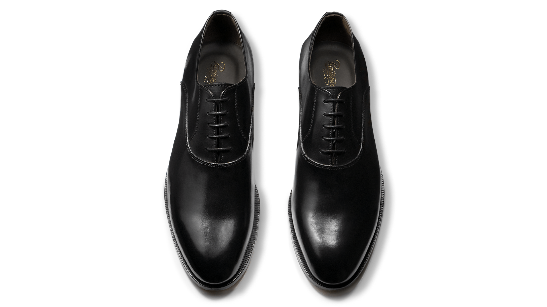 Oxford Plain Toe Crust Nero