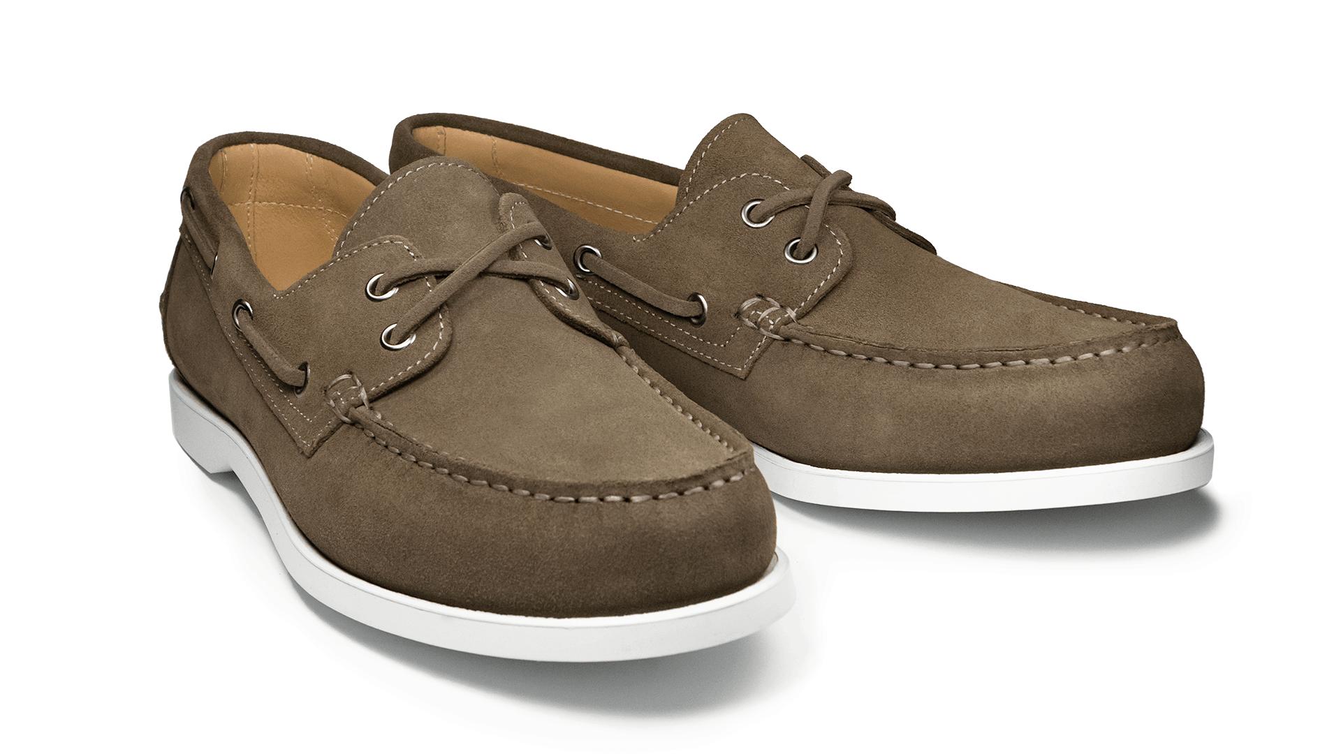 Boat Shoes Zamsz Fango