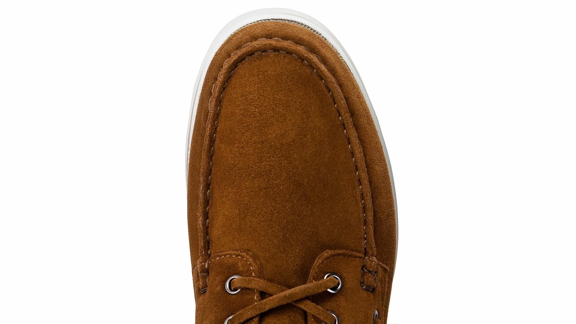 Boat Shoes Zamsz Tabacco