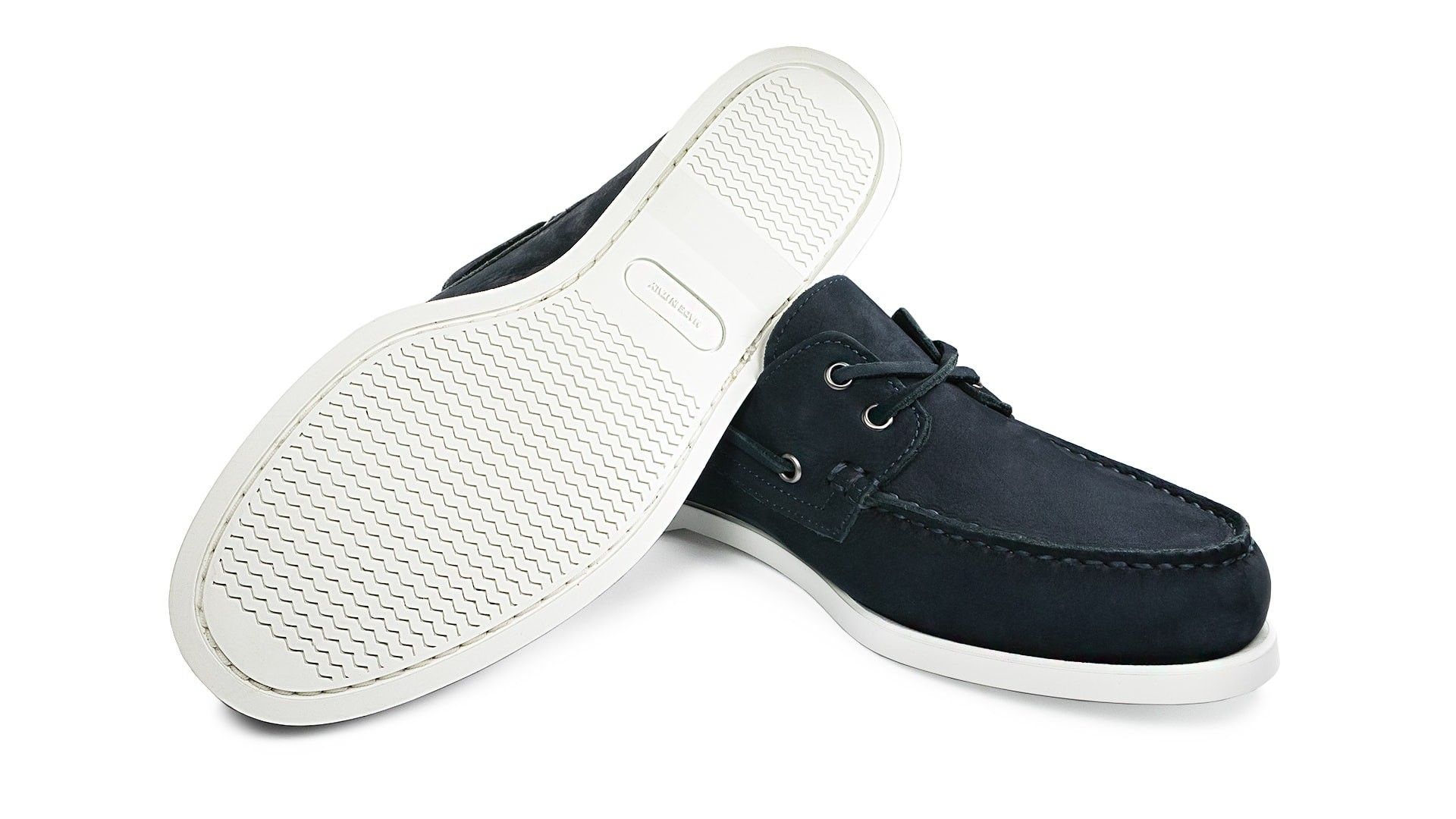 Boat Shoes Nubuk Blu