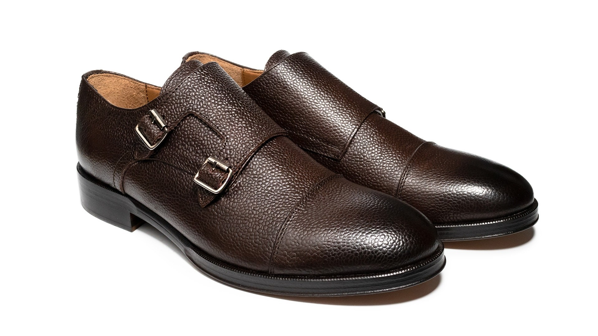 Monk Shoes Scotch Grain T.Moro