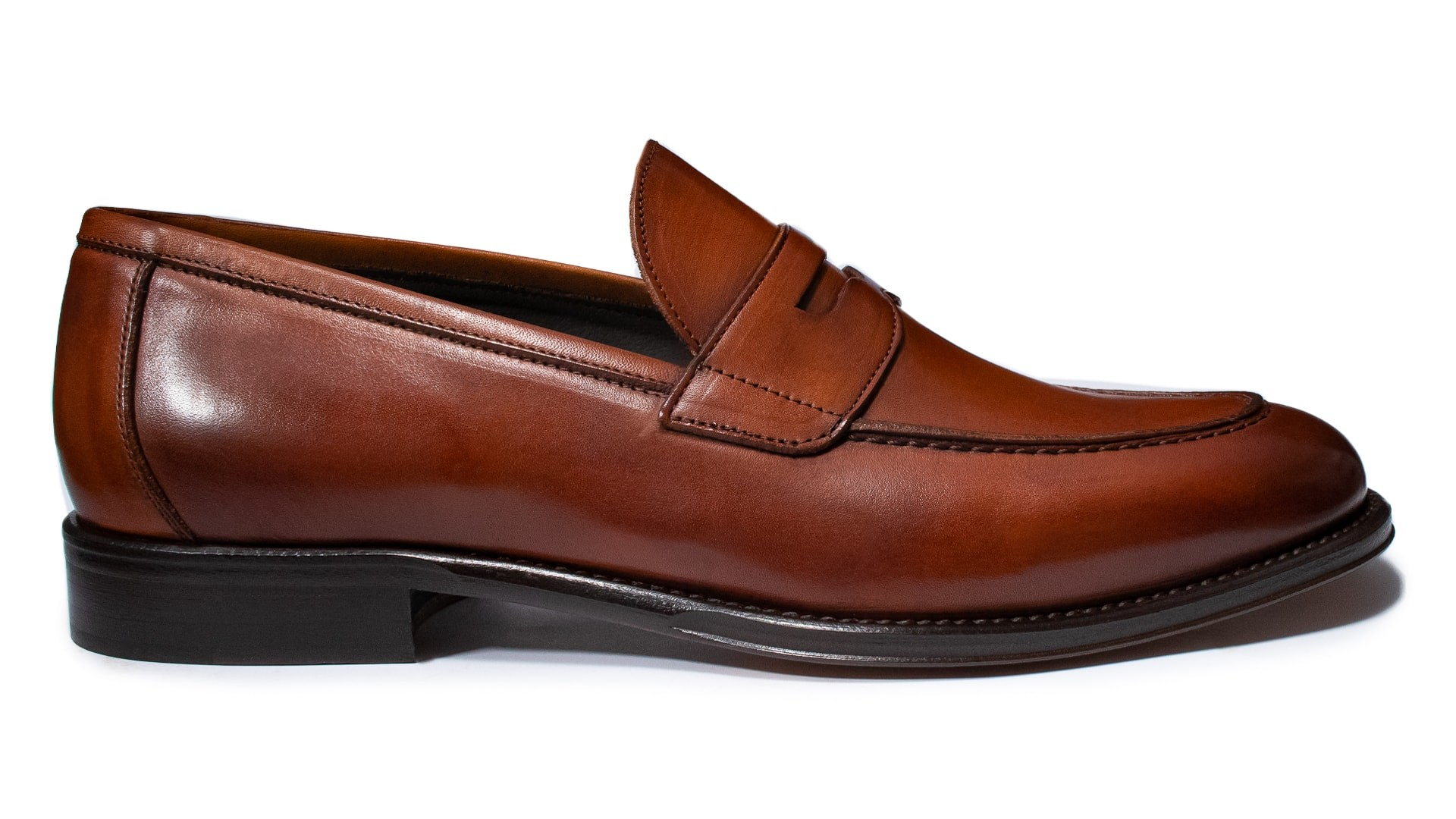 Penny Loafers Crust Tan