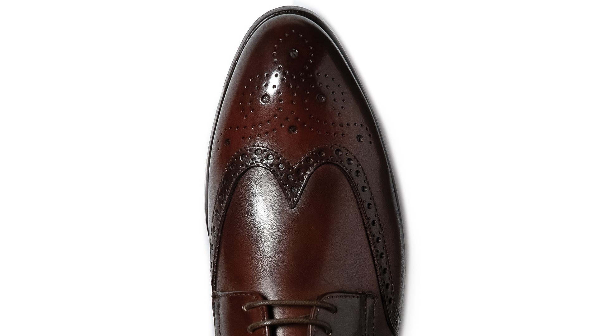 Derby Brogue Crust Marrone