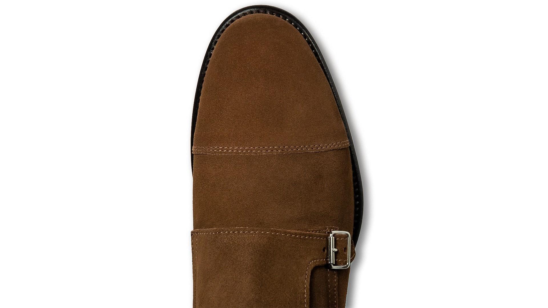 Monk Shoes Zamsz Bruciato