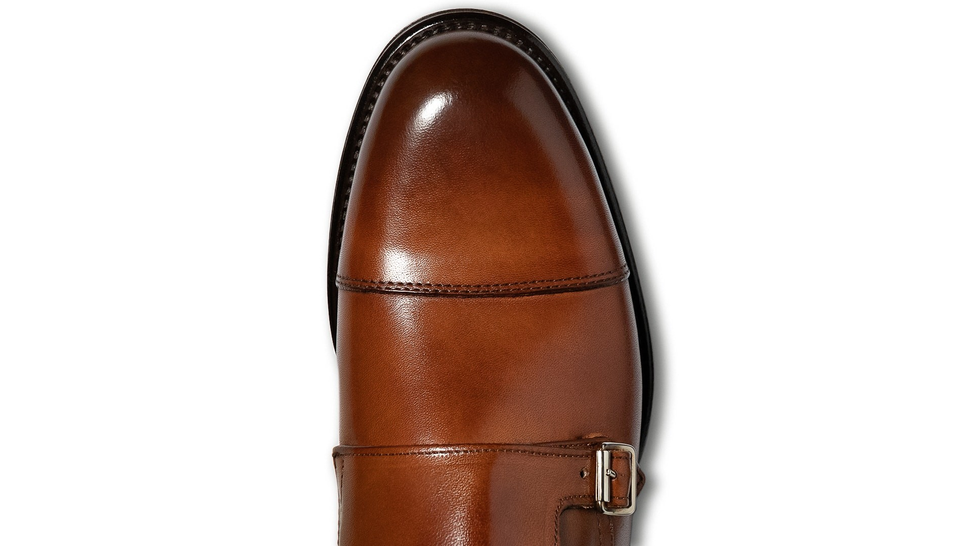 Monk Shoes Crust Tan