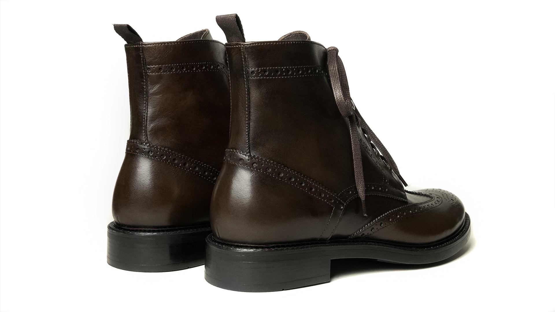 Brogue Boots Calf Espresso