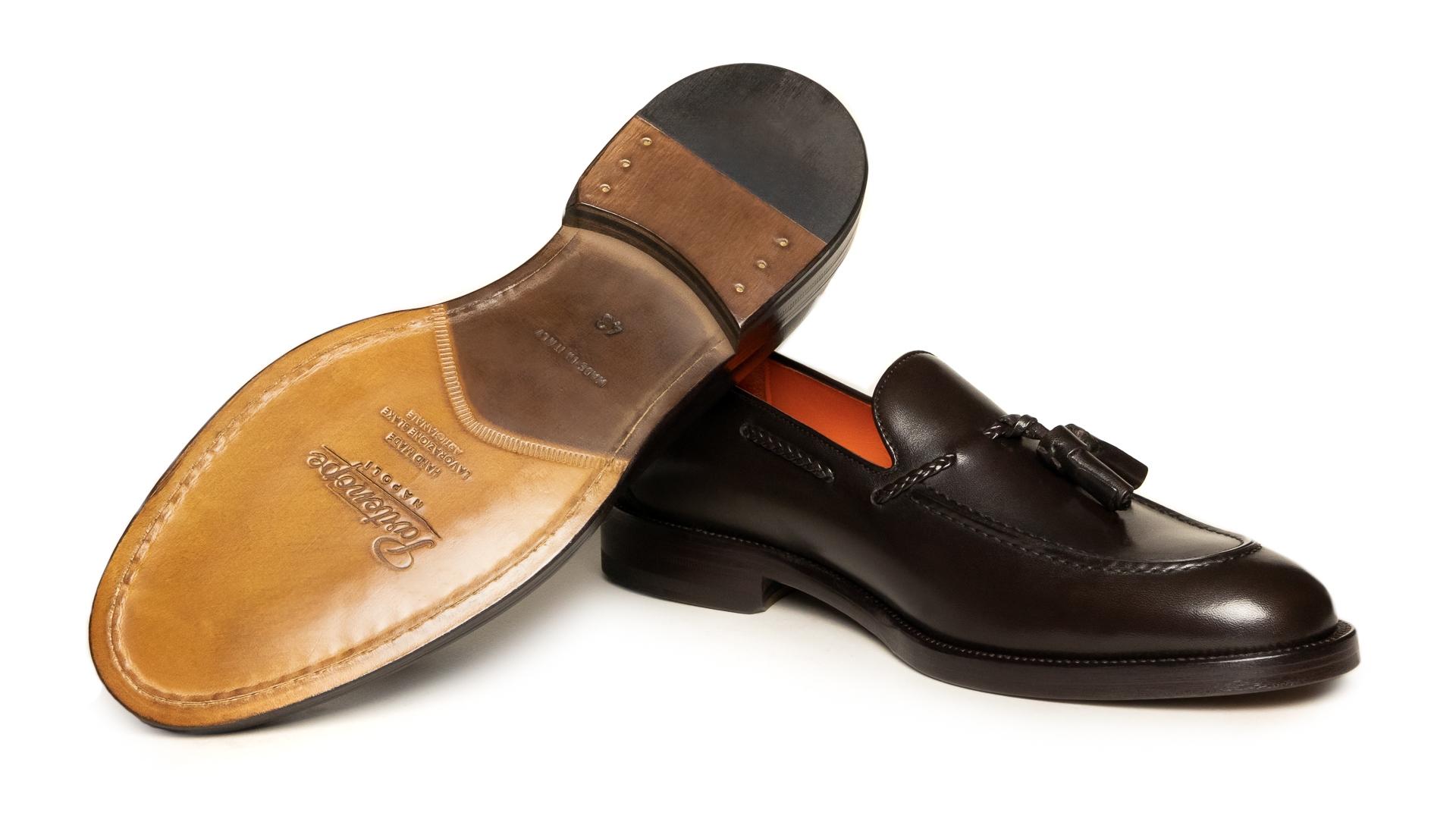 Tassel Loafers Calfskin Testa di Moro
