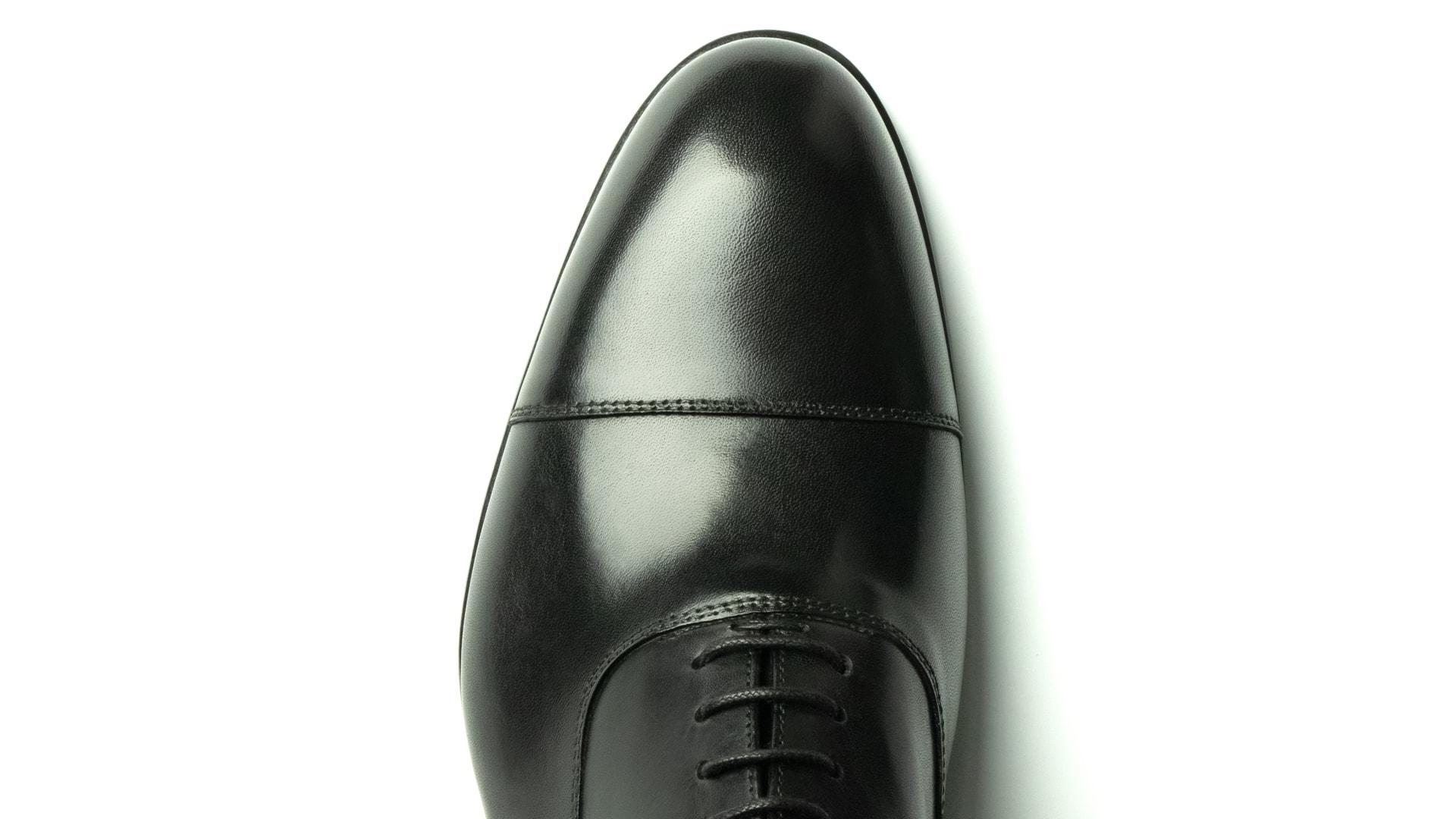Oxford Calfskin Leather Nero