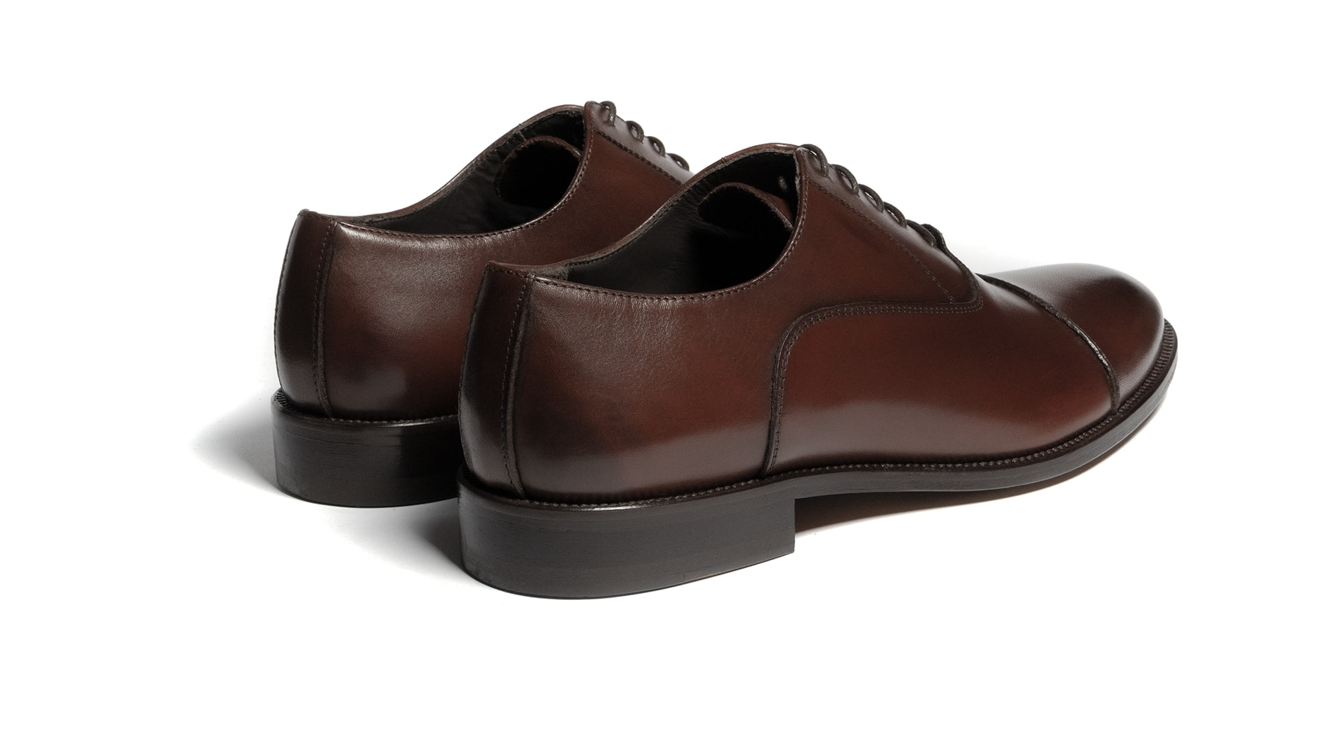 Oxford Calfskin Leather Brown