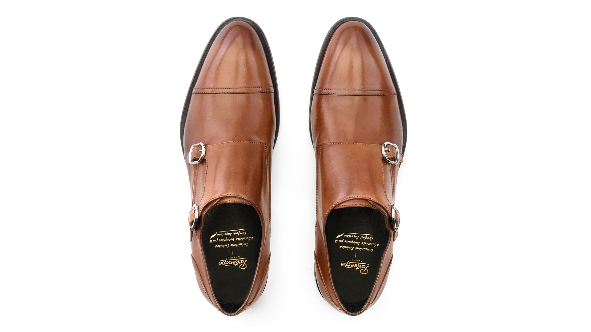 Monk Shoes Sacchetto Bolognese Cuoio