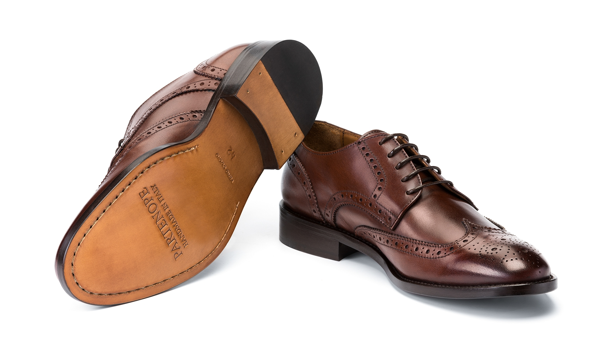 Derby Brogue Calfskin Brown