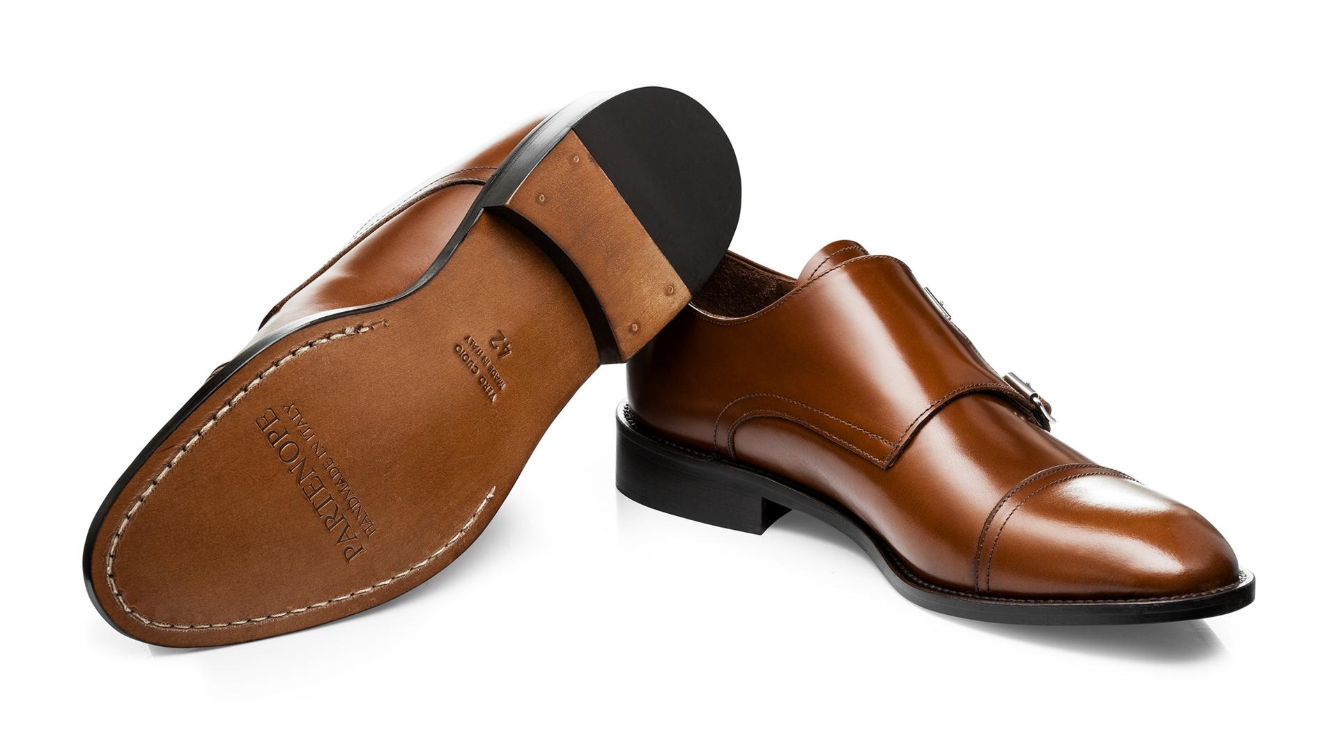 Monk Shoes S. Cielęca C