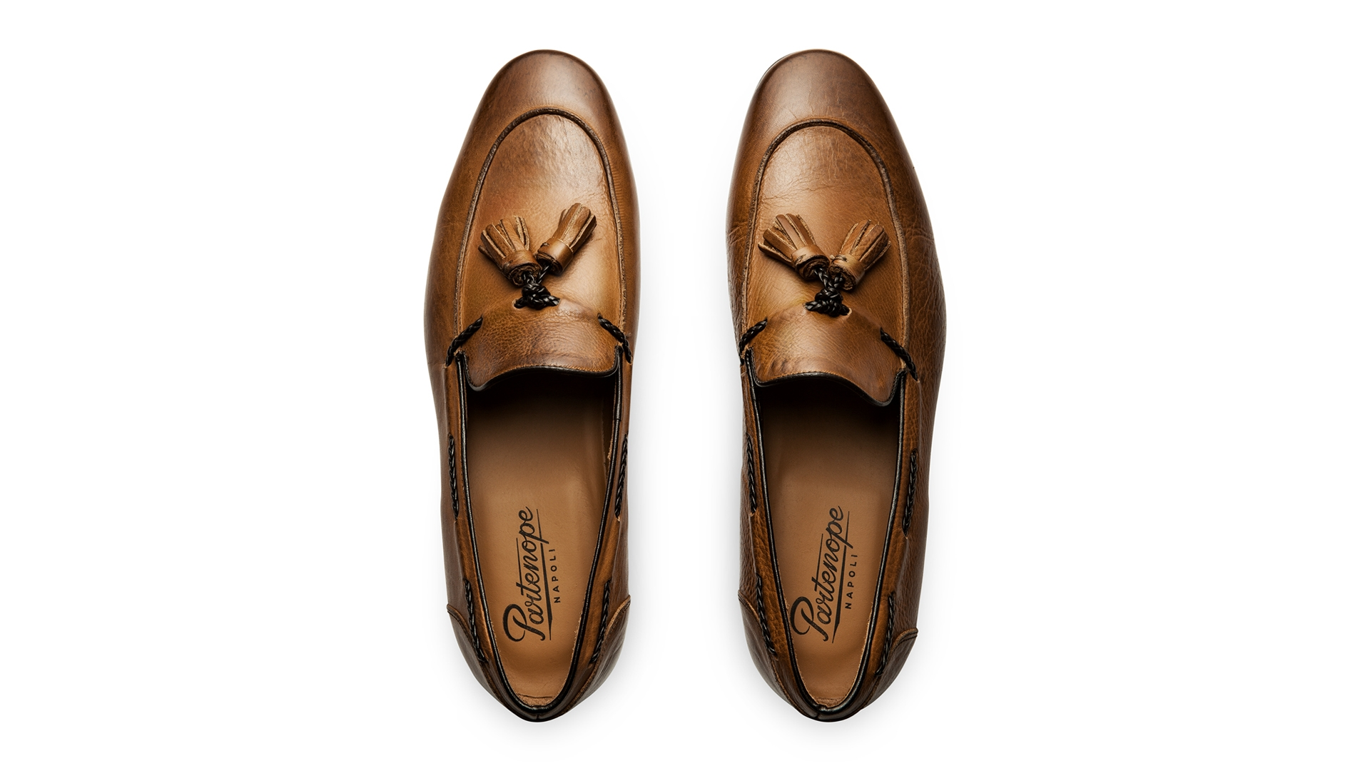 Tassel Loafers Antic Calf Cuoio
