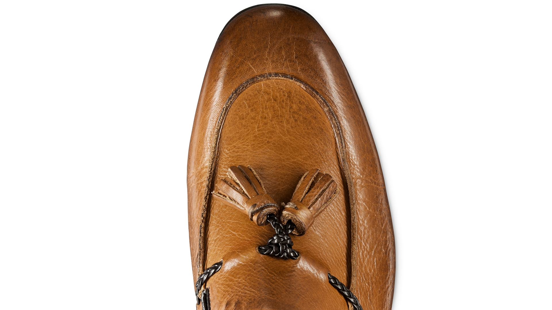 Tassel Loafers Antic Calf Cuoio